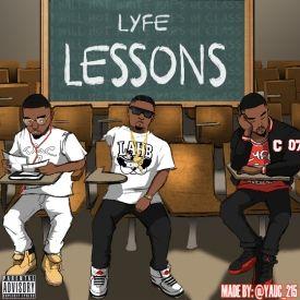 LyfeOfAdon - Lyfe Lessons Cover Art