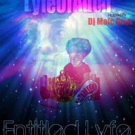 LyfeOfAdon - Entitled Lyfe  Cover Art