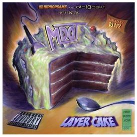 M-Dot - Layer Cake (Mixtape) mixed by DJ LP2 Cover Art