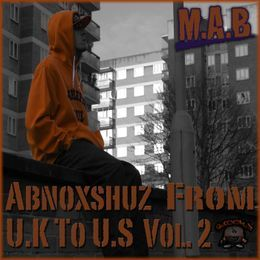M.A.B - Abnoxshuz From U.K To U.S Vol.2 Cover Art
