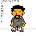Mackswell Powers - Powerful prod. by DJ Mstacks Cover Art