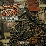 Major Motion Music - Up In The Studio Gettin Blown Cover Art