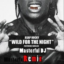 ASAP Rocky Feat Skrillex - Wild For The Night ( Masterful DJ Remix )