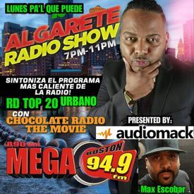 Chocolateradio Interviews Audiomack's Max Escobar on Mega 94.9 Boston