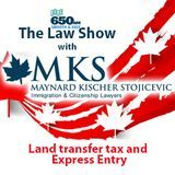 Maynard Kischer Stojicevic - Land transfer tax and Express Entry Cover Art