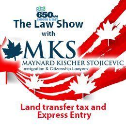 Maynard Kischer Stojicevic - Land transfer tax and Express Entry Cover Art