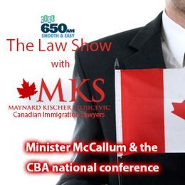 Maynard Kischer Stojicevic - Minister McCallum and the CBA national conference Cover Art