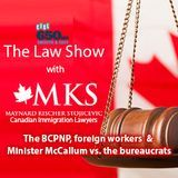 Maynard Kischer Stojicevic - The BCPNP, foreign workers and Minister McCallum vs. the bureaucrats Cover Art