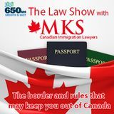 Maynard Kischer Stojicevic - The border and rules that may keep you out of Canada Cover Art