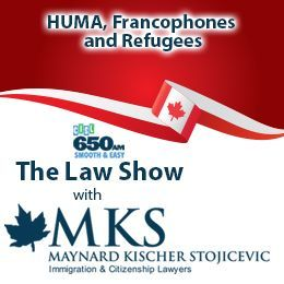 Maynard Kischer Stojicevic - Changes to Canada's immigration and citizenship policies Cover Art