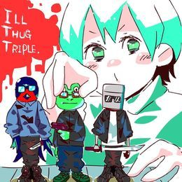 MAZAI RECORDS - ILL THUG TRIPLE Cover Art