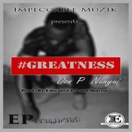 Mbunwe Jude - GREATNESS (EP) Cover Art