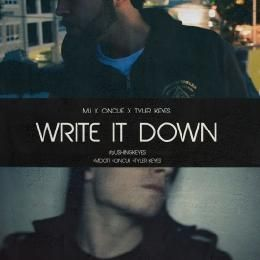 M.I - Write It Down Cover Art