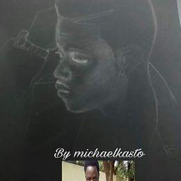 Michael Kasto - Upo Mwenyewe  Cover Art