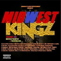 MidwestMixtapes - Midwest Kingz: The Mixtape Vol.1  Cover Art