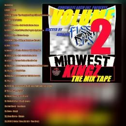 MidwestMixtapes - Midwest Kingz: The Mixtape Vol.2  Cover Art