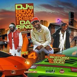 MidwestMixtapes - DJ's Bow Down & Kiss The Ring  Vol.4  Cover Art