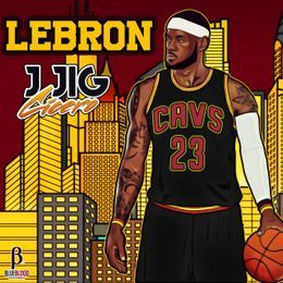 MidwestMixtapes - Lebron Cover Art