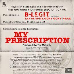 MidwestMixtapes - My Prescription  Cover Art