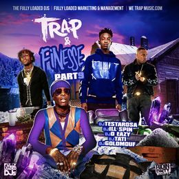 MidwestMixtapes - Trap & Finesse Vol.9 Cover Art