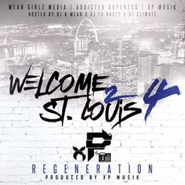 MidwestMixtapes - Welcome 2 St.Louis Vol.4: XP Musik Cover Art