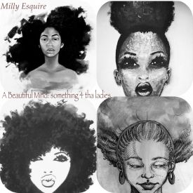 Milly Esquire - A Beautiful Mind: something 4 tha ladies Cover Art