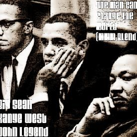 Big Sean, Kanye West & John Legend-One Man Can Change The World (MMM Blend)