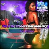 MixtapeAtlas.com - @KDakaHanDMan @QueenJustBritt - Im N Da Streets Not Industry 11 Cover Art