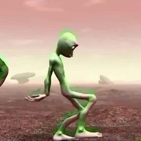 Alien Dance - Dame Tu Cosita