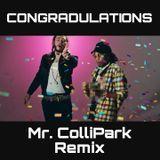 Mr. ColliPark - CONGRADULATIONS - MR. COLLIPARK REMIX Cover Art
