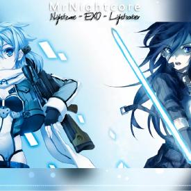 Nightcore - EXO - Lightsaber