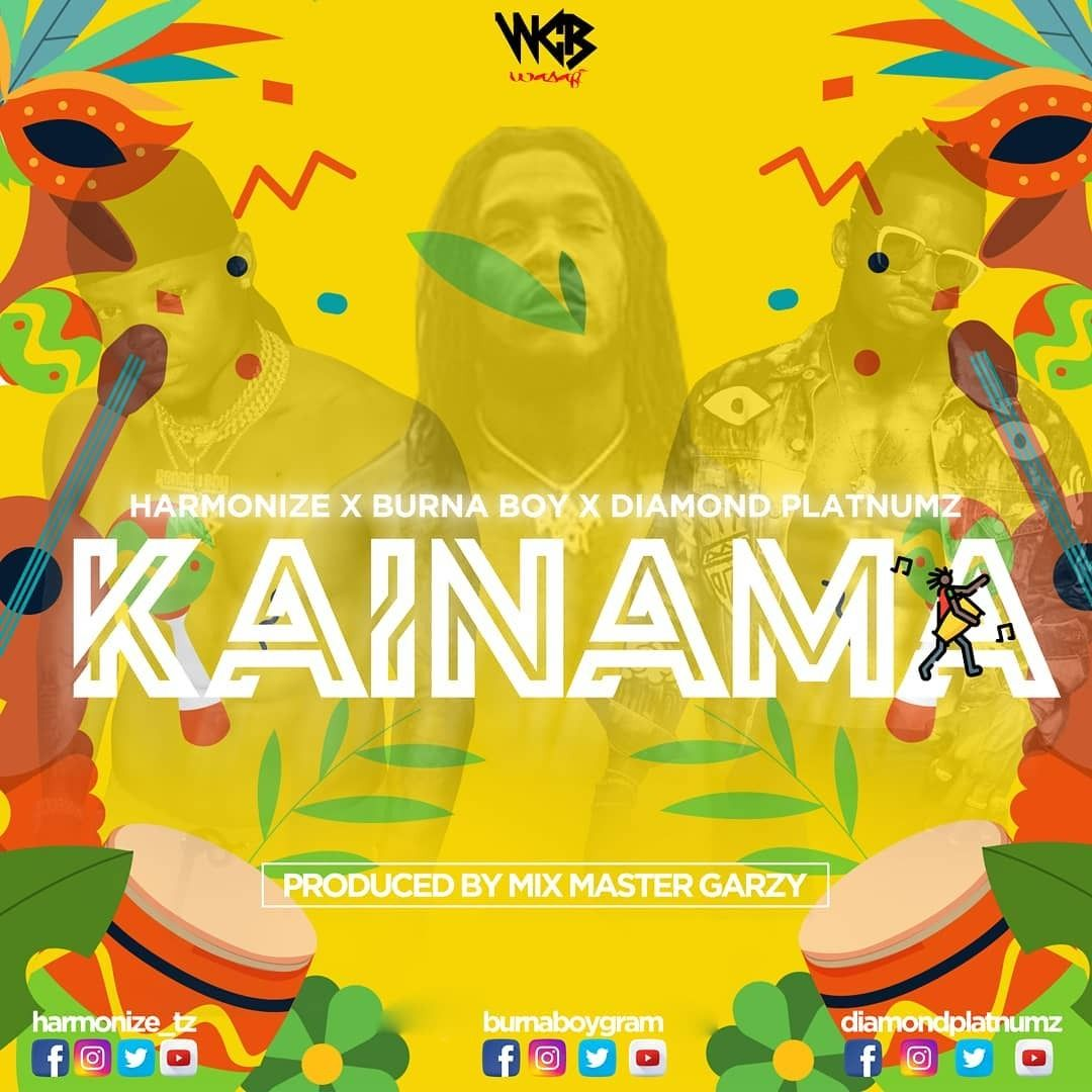 Harmonize x Burna Boy x Diamond Platnumz - Kainama Mullastar