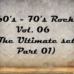 NewRockGeneratorN.R.G - 60's - 70's Rock Non-Stop Compilation Vol. 06 (The Ultimate Set Part 01) Cover Art