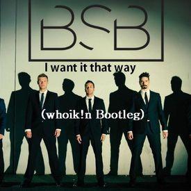 I Want It That Way (Whoik!n Bootleg)