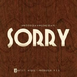 Nique - Sorry Cover Art