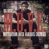 None But Music - M.O.V.E. (Motivation Over Various Enemies) Cover Art