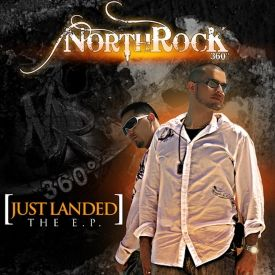 Northrock 360 - Just landed The E.P Cover Art