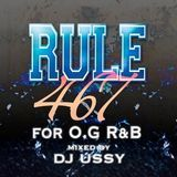 nyudo - RULE467 For OG R&B Mixed by DJ USSY Cover Art