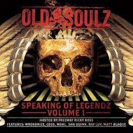Old Soulz - Speaking of Legendz vol 1 Cover Art