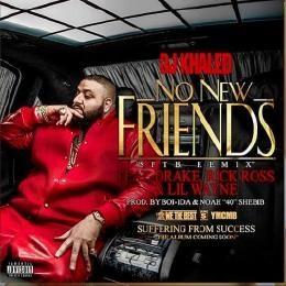 OneThrone - No New Friends (ft. Drake, Lil Wayne, Rick Ross) Cover Art