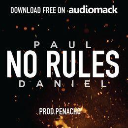 Paul Daniel - NO RULES Cover Art