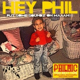 Phil Mic - Hey Phil Put Some Soundz On Maaan!!! (Phil Mic Beat Tape) Cover Art