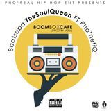 Pho'Real Hip Hop Records - BoomBox Cafe' Ft. Pho'netiQ Cover Art