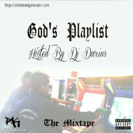 PK MUZIC - God's Playlist: The Mixtape Cover Art