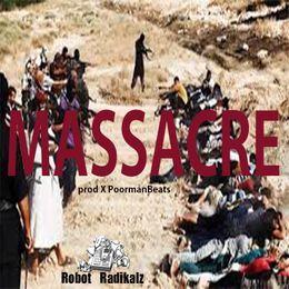 PoormanBeats Aka Manson - Massacre Prod X Poormanbeats Cover Art