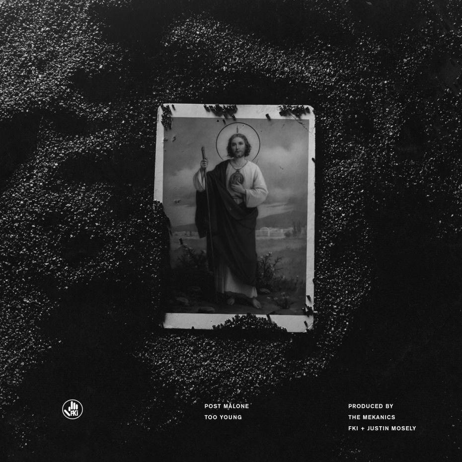 "Post Malone Album Cover: Post Malone - ""Too Young"" - Listen"
