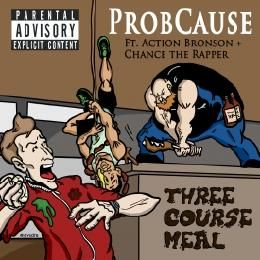 ProbCause - Three Course Meal Cover Art