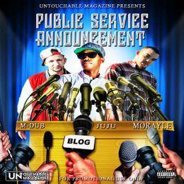 Promo Palace LLC - Public Service Announcement The Mixtape @UntouchableMag Cover Art