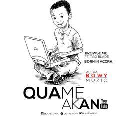 quameakan - Quame A.k.a.n - Born in Accra(Prod by NSHONAMUZICK) (2) Cover Art