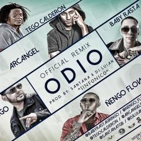 Odio (Official Remix)